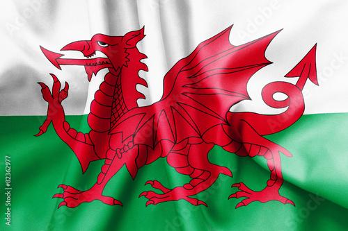 Fotografia Wales Flag