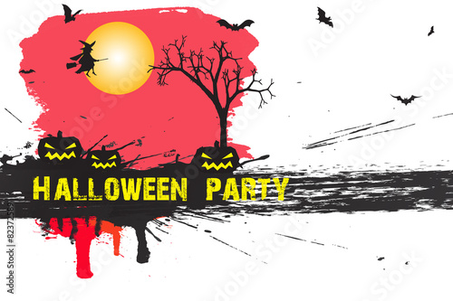 Fototapety, obrazy: Halloween party