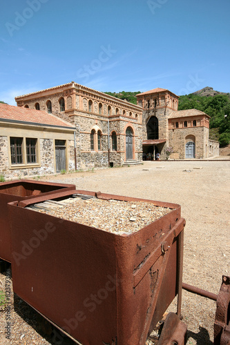 Montevecchio mine. Guspini (Sardinia - Italy) Wallpaper Mural