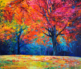 Obraz Autumn landscape