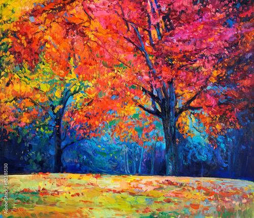 Autumn landscape - 82385130