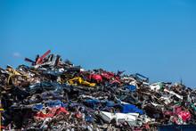 Pile Of Used Cars, Car Scrap Yard