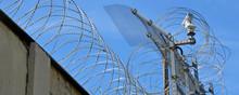 Gefängnis, Stacheldraht, Kerker