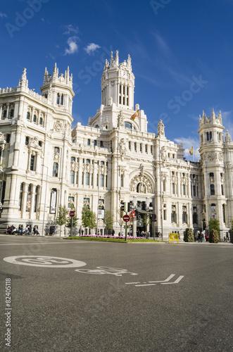 In de dag Madrid Architecture in Madrid, Spain