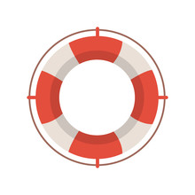 Lifeguard Icon Illustration