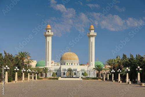 Staande foto Tunesië Mausoleum of Habib Bourgiba in Monastir