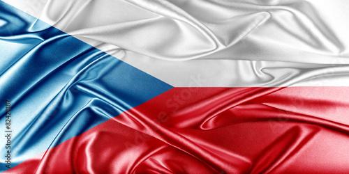 Cuadros en Lienzo Czech Republic Flag