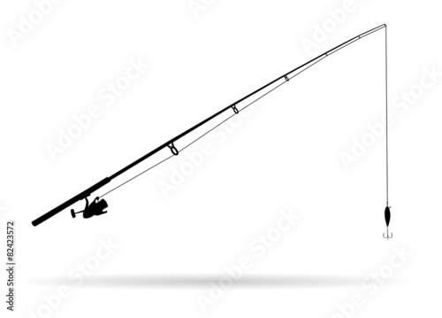 Fotografia Fishing rod - Illustration