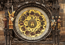 Prague Astronomical Clock Or T...