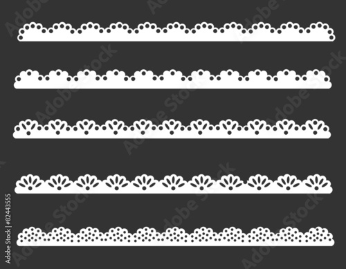 Lace patterns Canvas-taulu