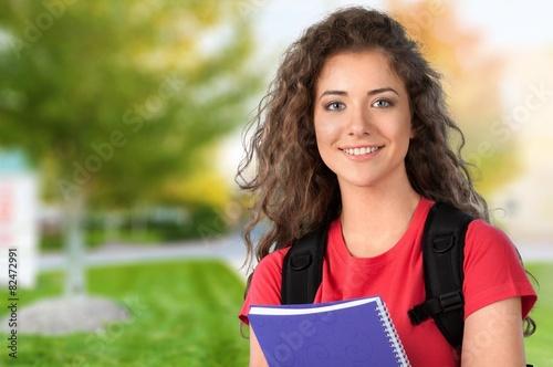 Valokuvatapetti High School Student. Beautiful Student
