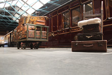 Old Fashioned Steam Railway Pl...