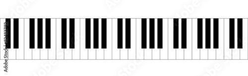 Fotografía  pianoforte, tastiera, note, tasti