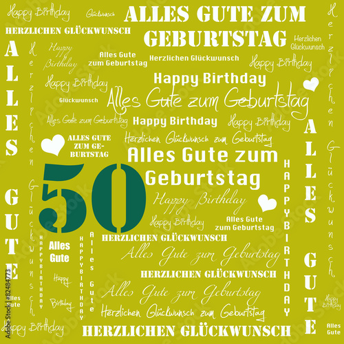 50 Geburtstag Ii Buy This Stock Illustration And Explore Similar