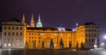 Main Gate Of Prague Castle.