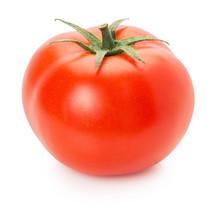 Fresh Tomato On A White Backgr...