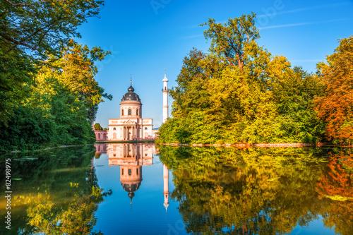 Fotomural  Moschee, Schlossgarten Schwetzingen