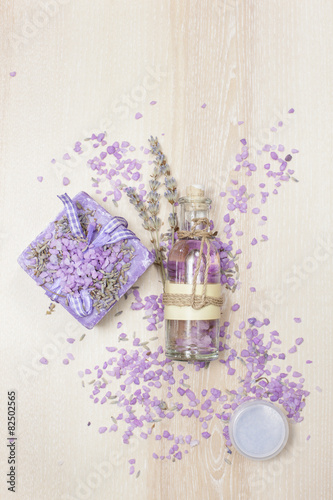 Fotografía  Lavender Beauty Products