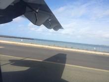 Shadow Of Propeller On Lagoon ...