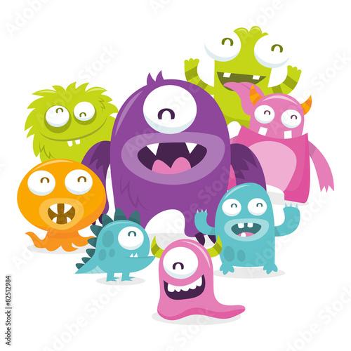 szczesliwa-scena-silly-cute-potwory