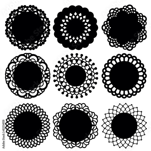 Fotografia, Obraz  Doily Lace Decoration