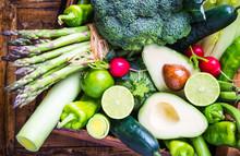 Mix Vegetables On Rustic Backg...