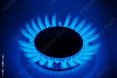 Fotografie, Obraz  Zemní plyn