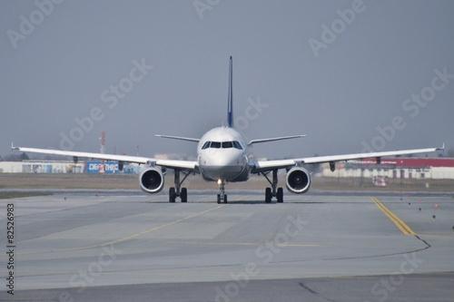 Fotografie, Obraz  Lufthansa plane