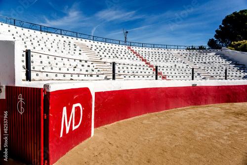 Keuken foto achterwand Stierenvechten Bullring stadium seats