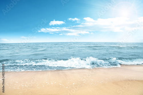 Foto op Canvas Strand sea