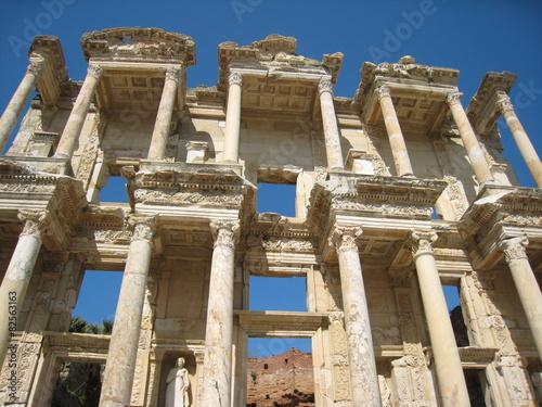 Fotografie, Tablou Library of Celsus