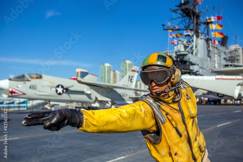 Photo  The historic aircraft carrier, USS Midway