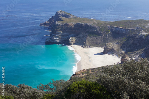 Valokuvatapetti View of Cape of Good Hope in South Africa