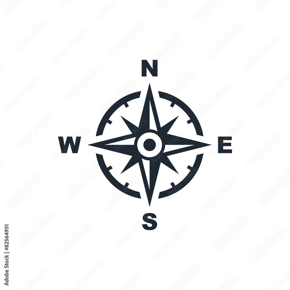 Fototapety, obrazy: compass