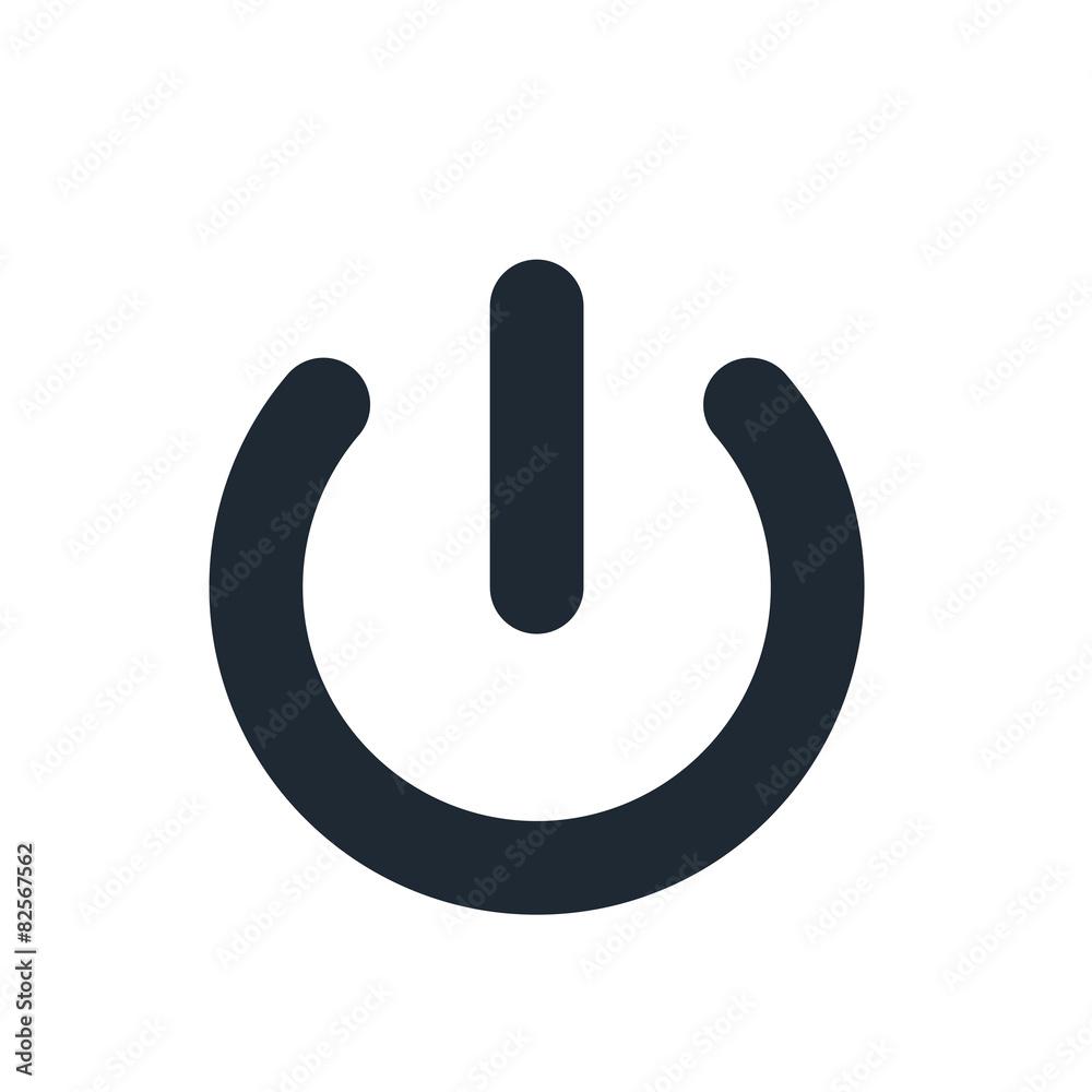Fototapeta power off icon