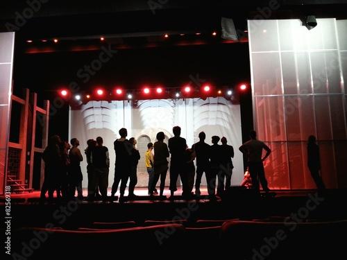 Fotografía  Prove sul palco