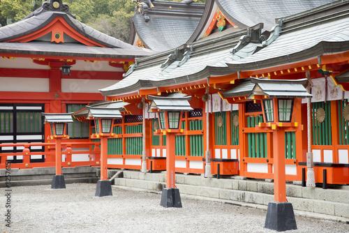 La pose en embrasure Lieu connus d Asie 熊野三山の熊野速玉大社