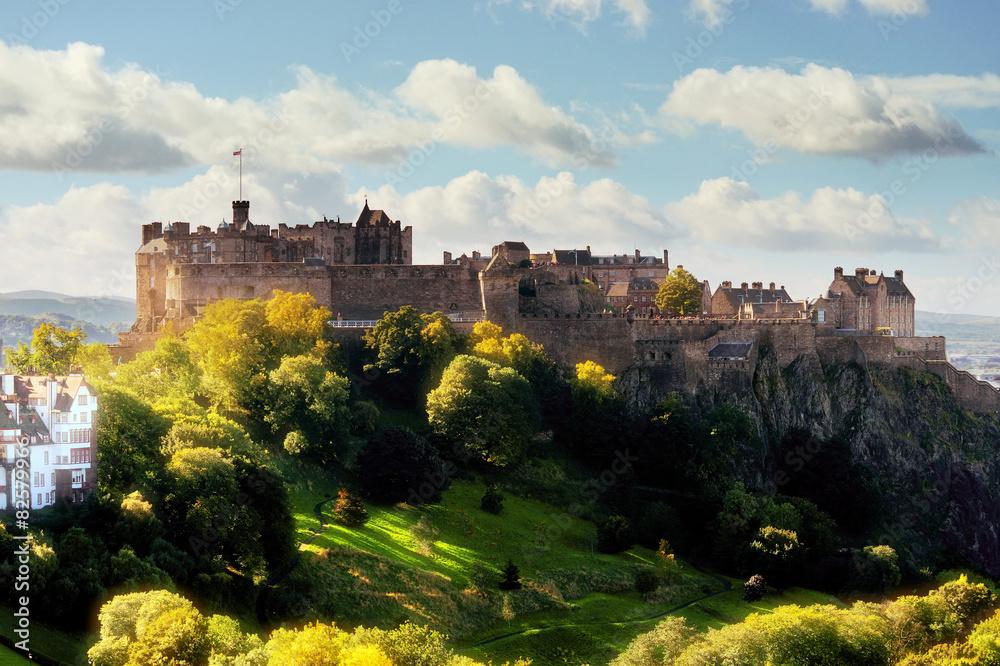 Fototapeta Edinburgh castle