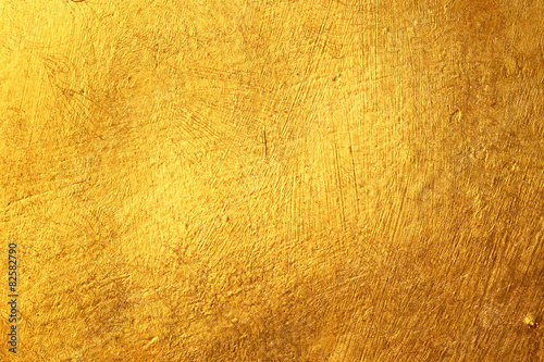 Photo  golden concrete texture