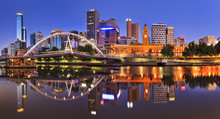 Melbourne CBD River Rise