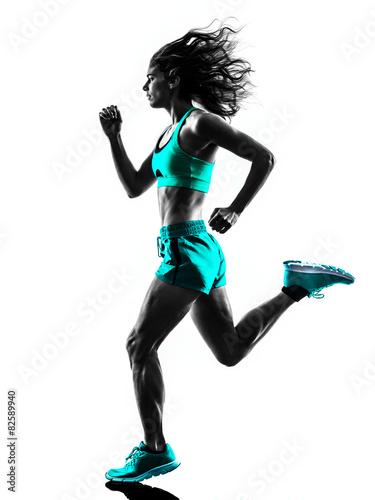 biegacz-kobieta-jogger-biegania-sylwetka