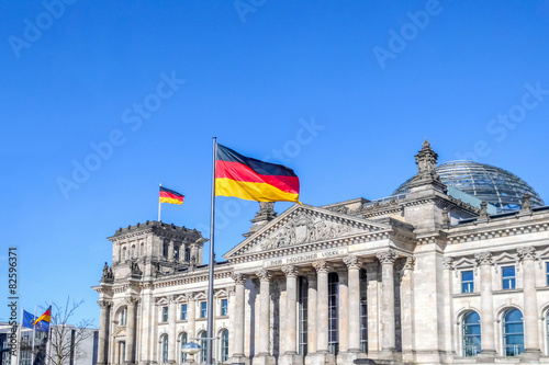 Poster Berlin Reichstag Berlin