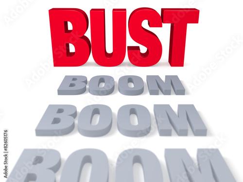 Fotografía  Boom Leads To Inevitable Bust