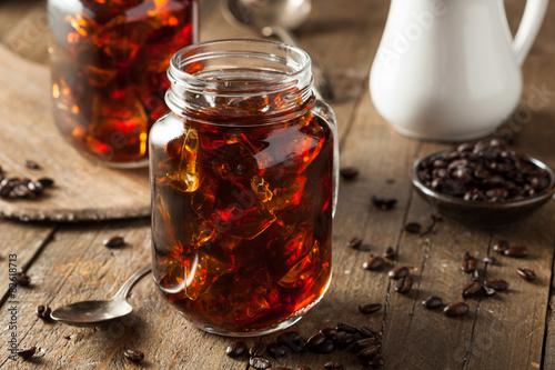 Fotografie, Obraz  Homemade Cold Brew Coffee