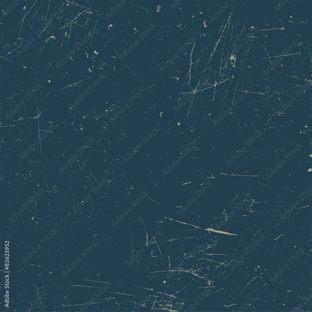 Fototapety, obrazy: Scratched texture. Blue grunge background.