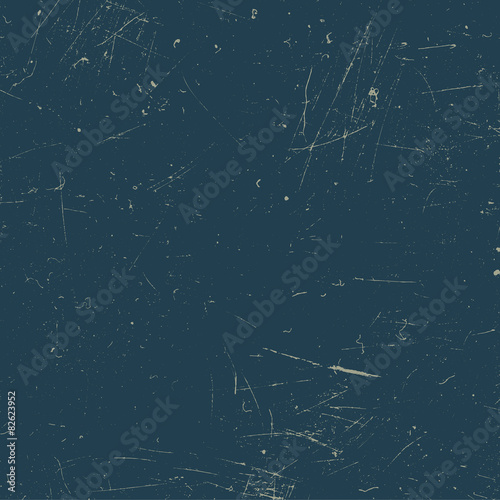 Obraz Scratched texture. Blue grunge background. - fototapety do salonu