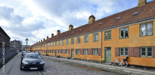 Photo  Kopenhagen - Häuserreihe