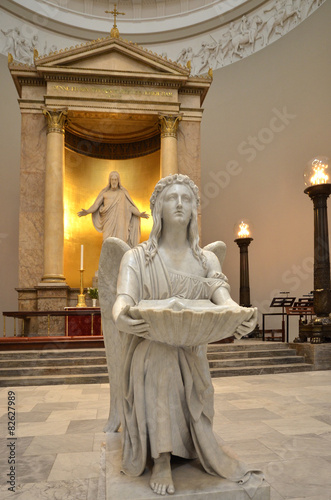 Photo  Kopenhagen Kathedrale - Engel