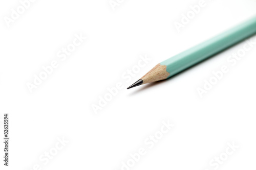 Drafting paper or graph paper with pencil  - Buy this stock photo