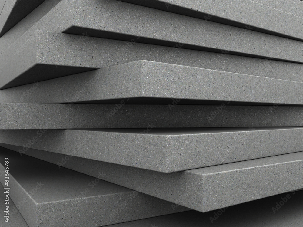 Fototapety, obrazy: concrete plates background